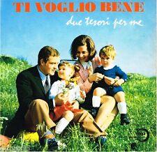 45 giri Ti voglio bene / Due tesori per me (1970 Edizioni Paoline F-CV 45.36)