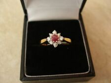 Ruby White Gold Natural Fine Rings