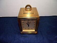 Vintage Hamilton Quartz Clock Rotating Weather Station