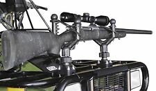 QuadBoss - CC1-QB - Cushioned Gun Rack NEW BLACK BAND STYLE GUN ATV HOLDER