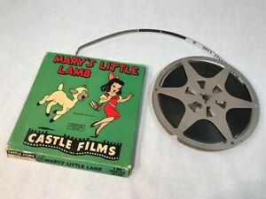 Castle FilmsMary's LittleLamb 8 MM Movie on Reel w Box