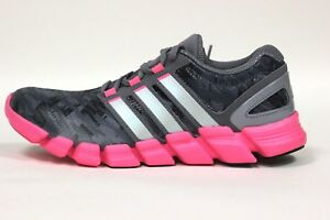 Adidas Women's Adipure Crazy Quick Shoes NEW AUTHENTIC Grey/Silver/Pink M22588