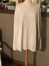 OLD NAVY Shimmer IVORY Sweater XXL Xx-Large NWT