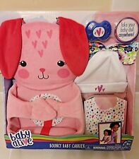 BABY ALIVE ADJUSTABLE DOLL BOUNCY CARRIER NEW WITH PACIFIER
