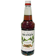 MONIN Coffee Syrup 1Ltr CINNAMON - Great for desserts and cocktails too!