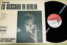 Werner Brink-ça s'est passé à Berlin-attention fugitif,..., vinyle, LP, vg +