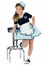 Rubies 1950s Auto Hop Speiselokal Kellnerin Mädchen Kinder Halloween Kostüm
