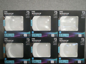 NEW 6 Pack Feit LED Dimmable 5-6 inch Recessed Retrofit 10.2w 925 Lumen Daylight