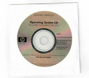 Microsoft Windows XP SP1 Professional Operating System CD HP Compaq software