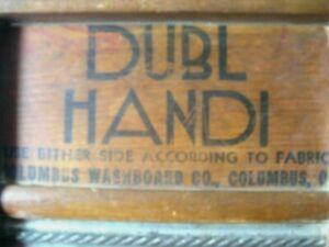 Vintage DUBL Handi Washboard -Metal 1900-40's