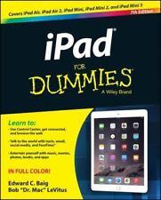 iPad For Dummies, LeVitus, Bob, Baig, Edward C., Good Condition, Book