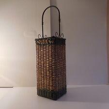 Porte-parapluies fait main umbrella stand handmade bread box art déco design XX