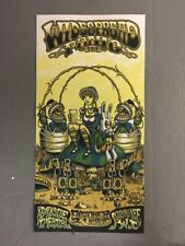 OFFICIAL WIDESPREAD PANIC CONCERT POSTER MILWAUKEE RIVERSIDE THEATER 10/21/17 N2