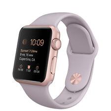 Apple Watch Smartwatches aus Silikon/Gummi und Aluminium Series 1