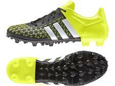 big sale 5dd17 acfcc Nuevas Adidas ACE 15.3 FG AG FG Terreno Firme Botines de fútbol para hombre  12 solar amarillo nuevo con etiquetas