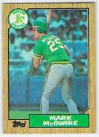 1986 Topps Mark McGwire Rookie Card # 366 FREE Shipping