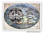 HISTORIC HARDBACK PLAN MAP 1812 DARTMOOR DEVON ESCAPE PLAN FRENCH PRISONER