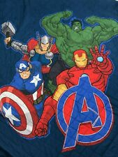 """Marvel The Avengers Quilt Bedspread 64"""" x 86"""" Standard Pillow Sham"""