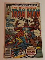 Iron Man #89 Guest-Starring Daredevil 1976 Marvel Comics