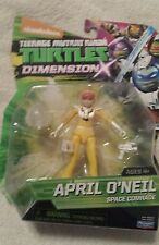 APRIL O'NEIL SPACE COMRADE TMNT Action Figure  Dimensions