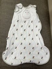 Nested Bean Zen Sack Classic Small 0-6 Month 7-18 LBS Weighted Penguins