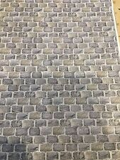1/18 diorama  Stone Or Large Granite Cobble Effect ( 5 sheets ) 0082