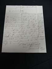 Jeremiah Day Autograph Letter Signed 1834 - President of Yale