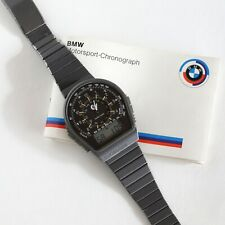 Buler BMW Motorsport Uhr Watch Vintage Chronograph, inkl. Owner´s Manual