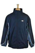 Reebok Men Coats & Jackets Windbreakers XL Blue Cotton