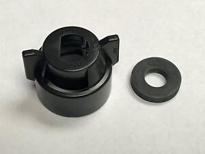 114441-1-CELR TeeJet Black Cap and Gasket