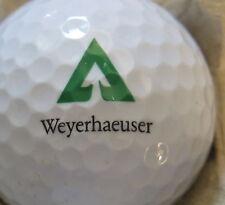 (1) Weyerhaeuser Logo Golf Ball