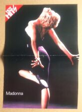 MADONNA Original Vintage Hot Hits Magazine Poster