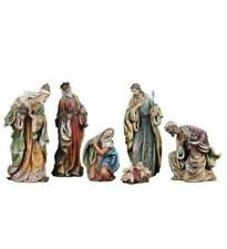 Nativity Set 24 inch Tall Indoor Outdoor Quality Traditional Style