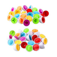 Matching Egg Set Toddler Eggs Toy for Kids Educational Color and Shapes