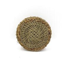 "Bamboo Steamer Mat 7"" inch Handwoven Homeuse Steamed Bun Placemat Good smell"