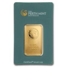 1 oz Gold Bar - Perth Mint (Classic Assay) - SKU #168779