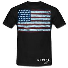 T-Shirt maglia Stati Uniti America cotone moda uomo