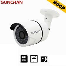 SUNCHAN 960P AHD Waterproof Outdoor IR Color 3.6mm Night CCTV Security Camera HD