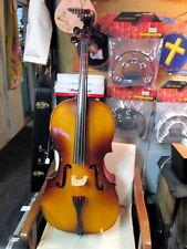 TEST--ENGLEHARDT Cello model E5534 USA Made string orchestra instrument 3/4 size