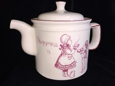 "Antique Royal Crownford English Teapot ""Happiness Is Being A Grandmother"" 32 Oz"