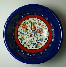 """Hand Painted in Turkey Nimet Bowl 4 3/4"""" Beautiful Excellent Condition"""