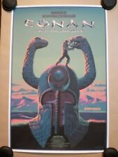 Conan the Barbarian - Screen Print Poster - Variant - Art by Durieux - Mondo
