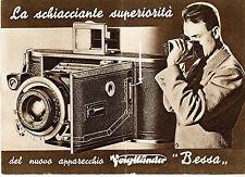 Voigtander Bessa - depliant pubblicitario 1935