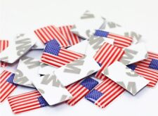 10 pcs Car Styling Sticker American Flag - America USA Badge