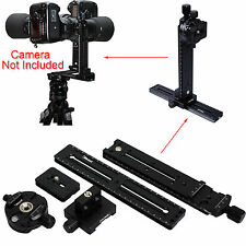 Cantilever Ballhead: Panoramic Head+ Clamp+Linker+Quick Release Plate+Long Plate