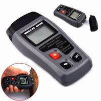 EMT01 0-99.9% LCD Legna Misuratore di umidita Tester Legname Rilevatore CM