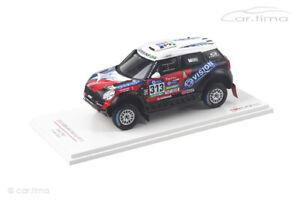 Mini All4 Racing Dakar Rally 2016 Garafulic/Palmeiro TSM 1:43 TSM430236