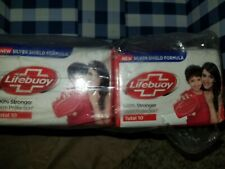 Lifebuoy Soap Total 10 germ protection silver shield formula 12 pack