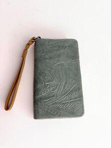 Margot Leather Wristlet Phone Case Credit Card Holder