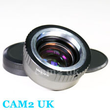 Focal Reducer Speed Booster 0.72x Adapter M42 lens to Fujifilm X Fuji FX X-Pro2